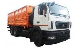 МАЗ 6501С5-525 (535) -000 Зерновоз, платформа 22м3, г / п 13,3т.