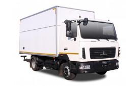 МАЗ-4371 «Корнет» - промтоварний фургон
